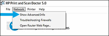 Click Show Advanced Info in the drop-down menu.